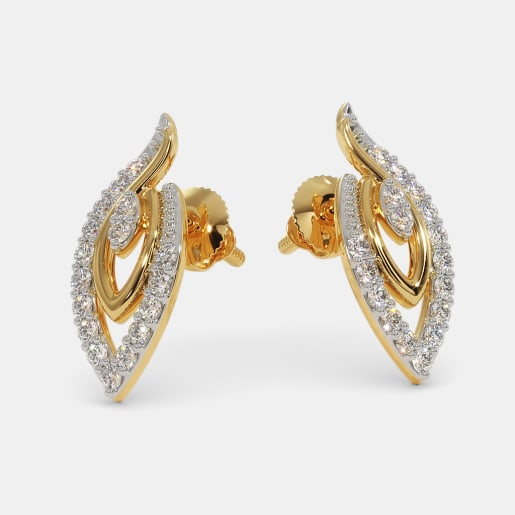 The Heavenly Paradise Stud Earrings