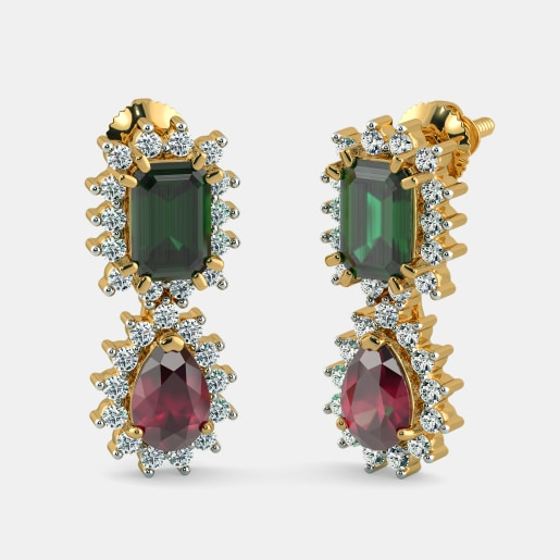 The Detachable Kalakriti Drop Earrings