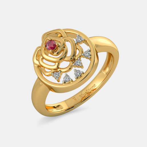 The Loving Rose Ring