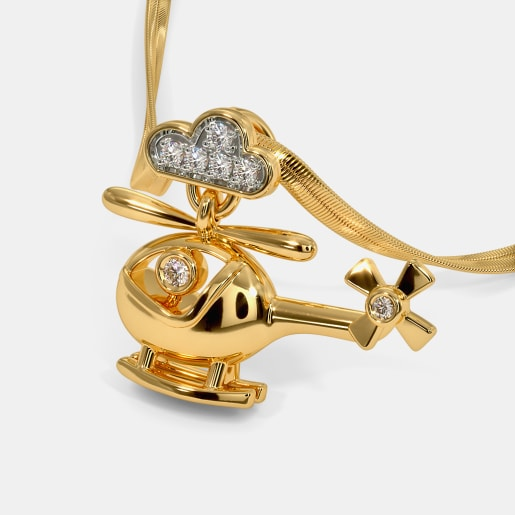 The Flying Machine Pendant For Kids