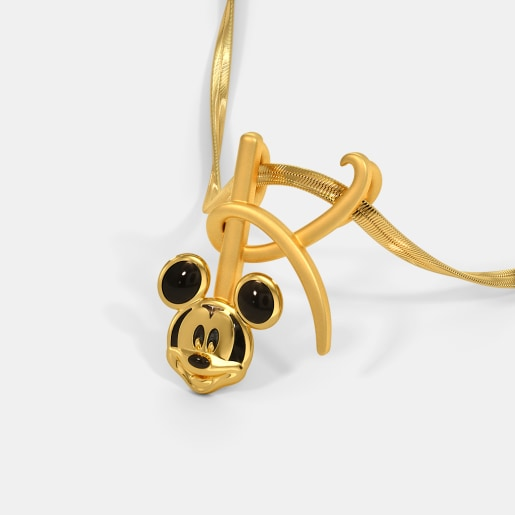 The K For Kitsch Mickey Pendant For Kids