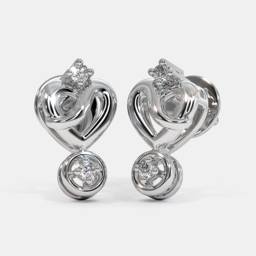 The Siria Love Stud Earrings
