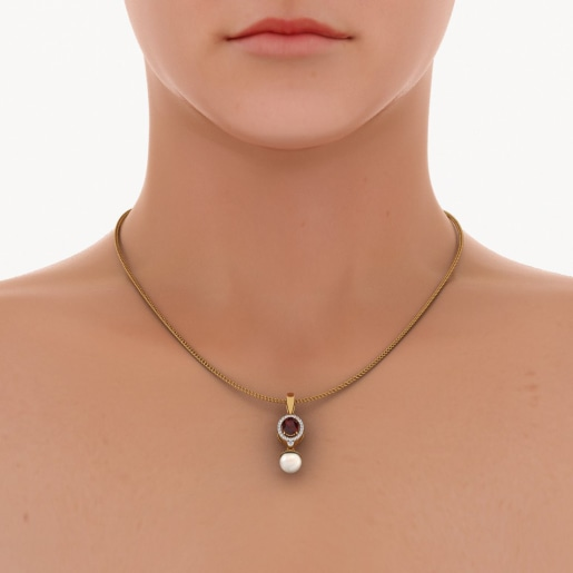 The Fire and Ice Pendant