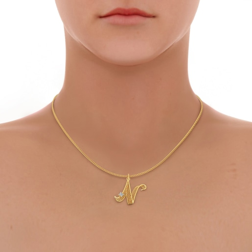 The Noble N Pendant