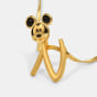 The N For Nova Mickey Pendant For Kids