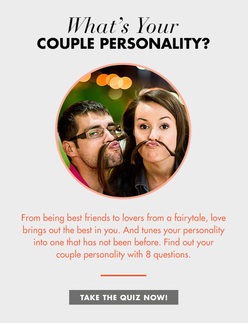 What's Your Couple Personality? - Take Quiz